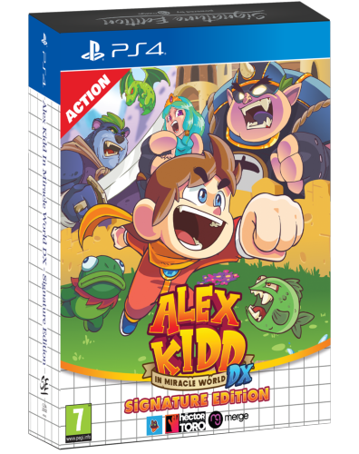 Alex Kidd in Miracle World DX PS4 Signature Edition