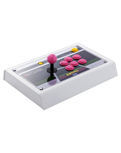 Sega Astro City Arcade Stick - Boutons roses Exclusivité Just for Games