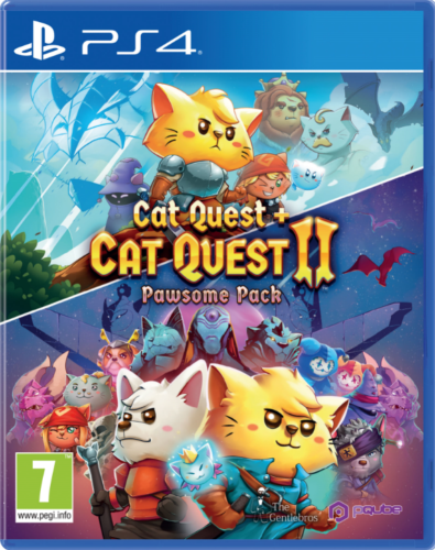 Cat Quest 1+2 Pawsome pack PS4