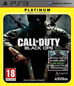 Call of Duty Black Ops Platinum PS3