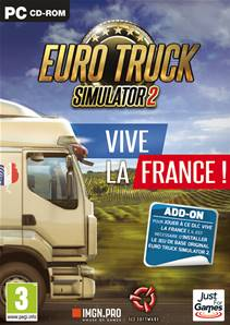 "Euro Truck 2 Simulator ""Vive la France"" PC"