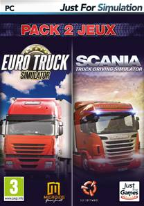 Pack Euro Truck + Scania PC