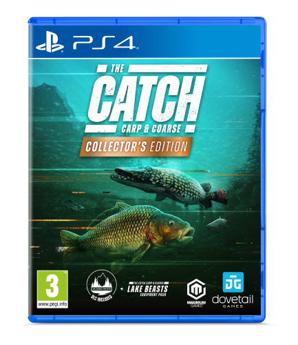 The Catch Carp and Coarse Collector's edition PS4