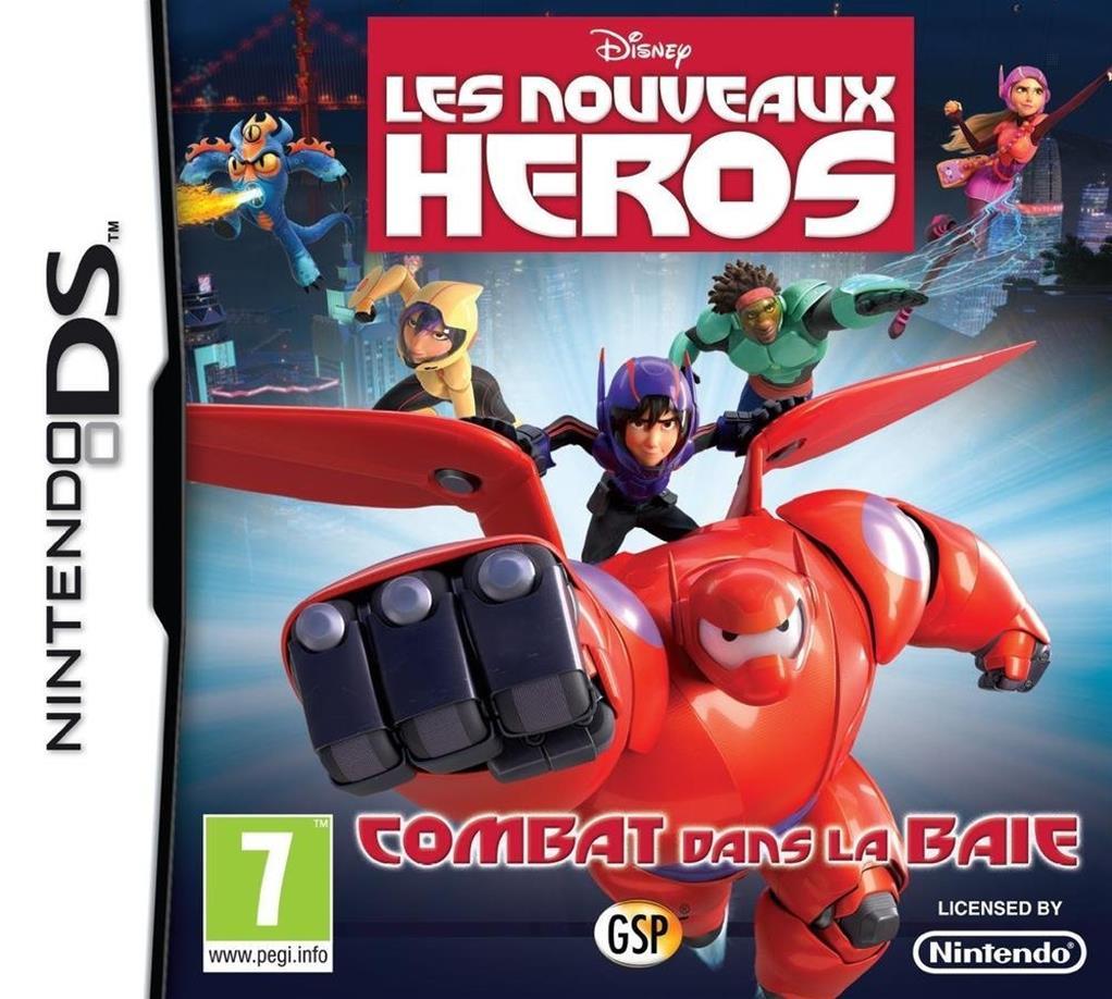 les nouveaux h ros big hero 6 nds jeu sur console just for games. Black Bedroom Furniture Sets. Home Design Ideas