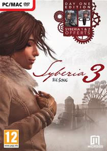 Syberia 3 Day One Edition (Sybéria D1+ Sybéria 2+ Syberia 3) PC
