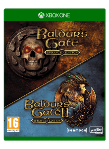 Baldur's Gate 1+2 Enhanced edition Xbox One (Beamdog Collection)