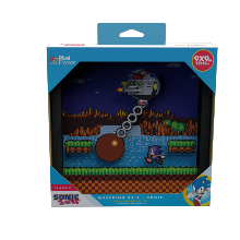 Pixel Frames Sonic The Hedgehog Wrecking Ball - Taille L 23x23cm
