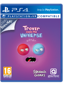 Trover Saves the Universe PS4 PSVR