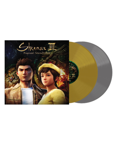 Shenmue III Original Soundtrack Music Selection Or et Argent 2LP