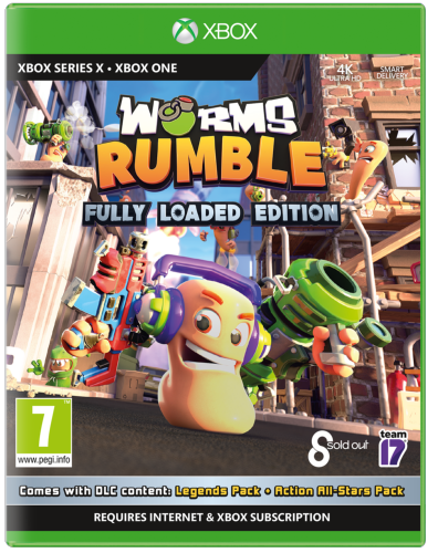 Worms Rumble Fully Loaded edition XBOX SERIE X / XBOX ONE