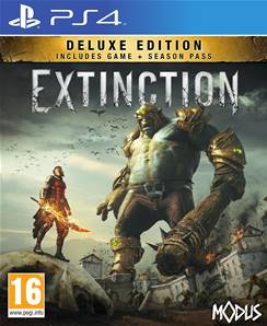 Extinction Deluxe edition / PS4 (+ season pass Days of Dolorum)