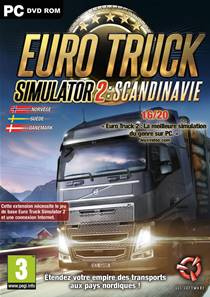 Euro Truck 2 Simulator : Scandinavia PC
