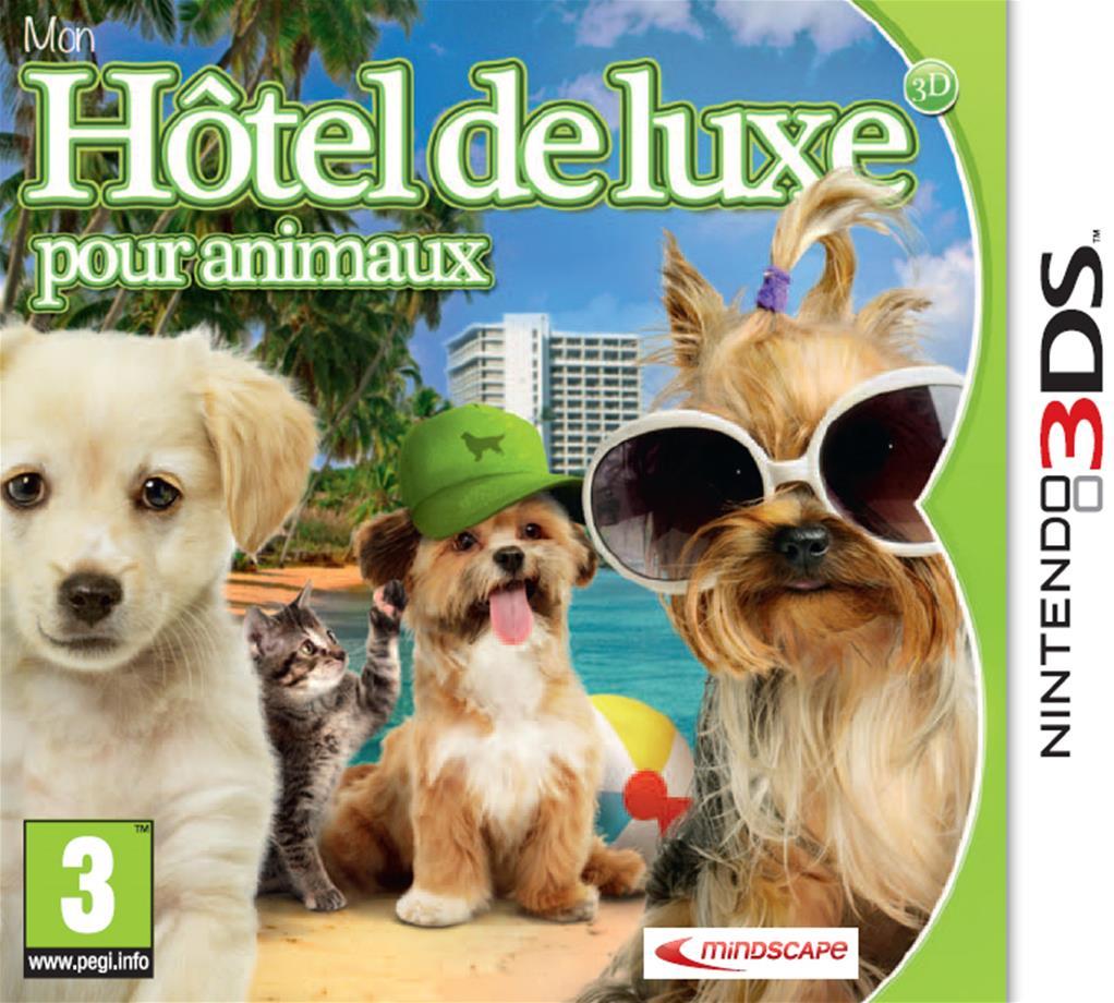 mon hotel de luxe pour animaux 3d 3ds jeu d 39 action aventure just for games. Black Bedroom Furniture Sets. Home Design Ideas
