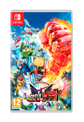 The Wonderful 101 Remastered SWITCH