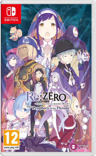 Re:Zero -The Prophecy of the Throne Standard Edition SWITCH