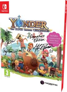 Yonder The Cloud Catcher Chronicles Edition Signature / Nintendo Switch