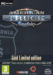 American Truck Simulator Gold Limited Edition PC