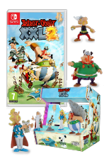 Pack Astérix & Obélix XXL2 Switch + Arcade mini + 7 figurines