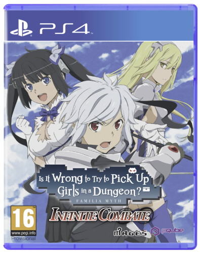 Is it Wrong to Try to Pick-up Girls in a Dungeon ? Infinite Combat (DanMachi) PS4