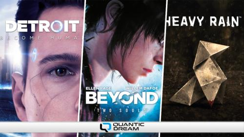 Pack Quantic Dream (Detroit + Heavy + Beyond) PC