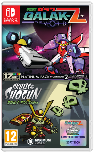Galak-Z The Void & Skulls of the Shogun Bonafide Edition Platinum Pack Switch