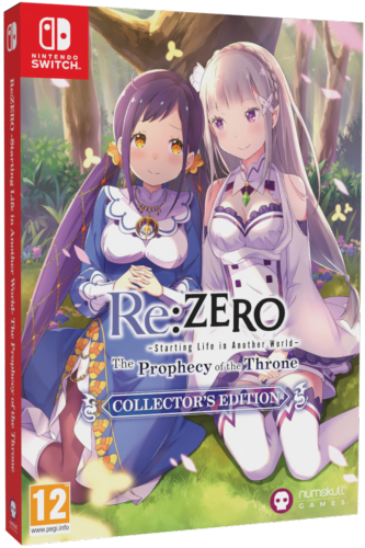 Re:Zero -The Prophecy of the Throne Collector's Edition SWITCH